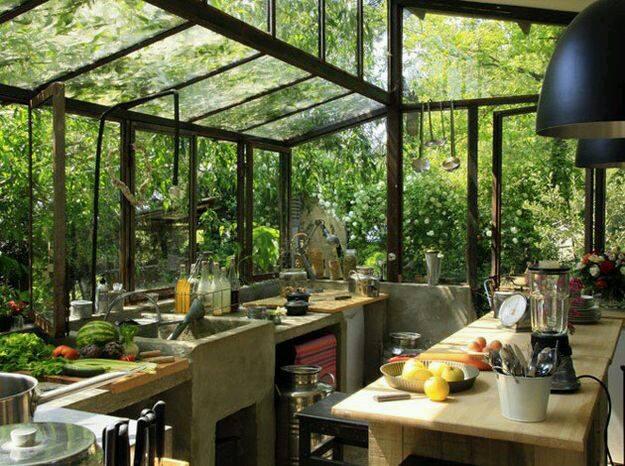 Outdoor Kitchen Bareo Isyss Interior Design Thailand