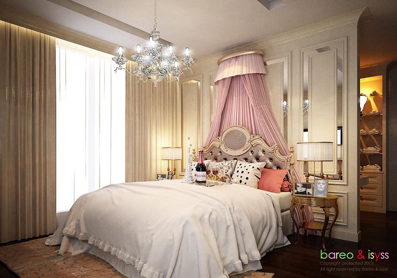 บาริโอ Bareo ออกแบบภายใน ออกแบบตกแต่งภายใน บริษัทออกแบบภาย บริษัทออกแบบตกแต่งภายใน interio เตียงเจ้าหญิง ที่นอนเจ้าหญิง ห้องนอนเจ้าหญิง