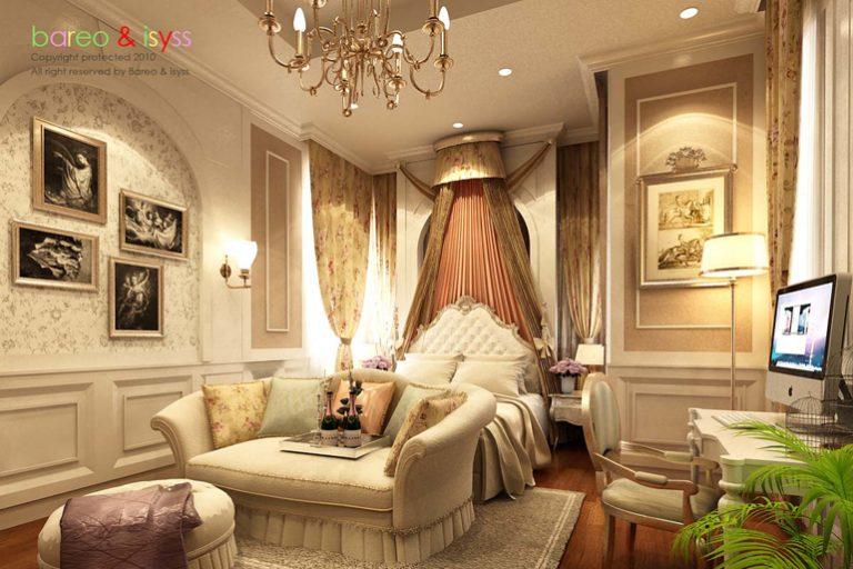 บาริโอ Bareo ออกแบบภายใน ออกแบบตกแต่งภายใน บริษัทออกแบบภาย บริษัทออกแบบตกแต่งภายใน interio ห้องนอนเจ้าหญิง ห้องนอน