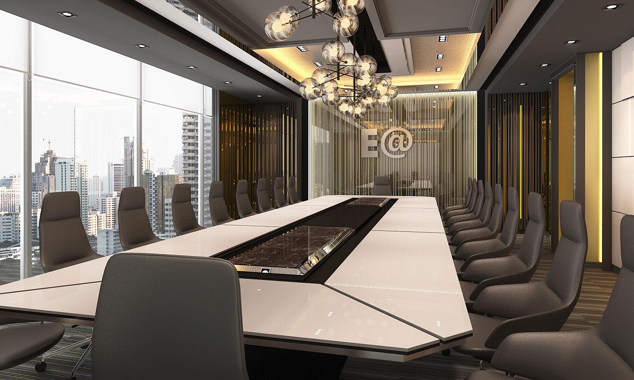 บาริโอ Bareo ออกแบบภายใน ออกแบบตกแต่งภายใน บริษัทออกแบบภาย บริษัทออกแบบตกแต่งภายใน interio ห้องประชุม E@ บริษัทพลังงานบริสุทธิ์