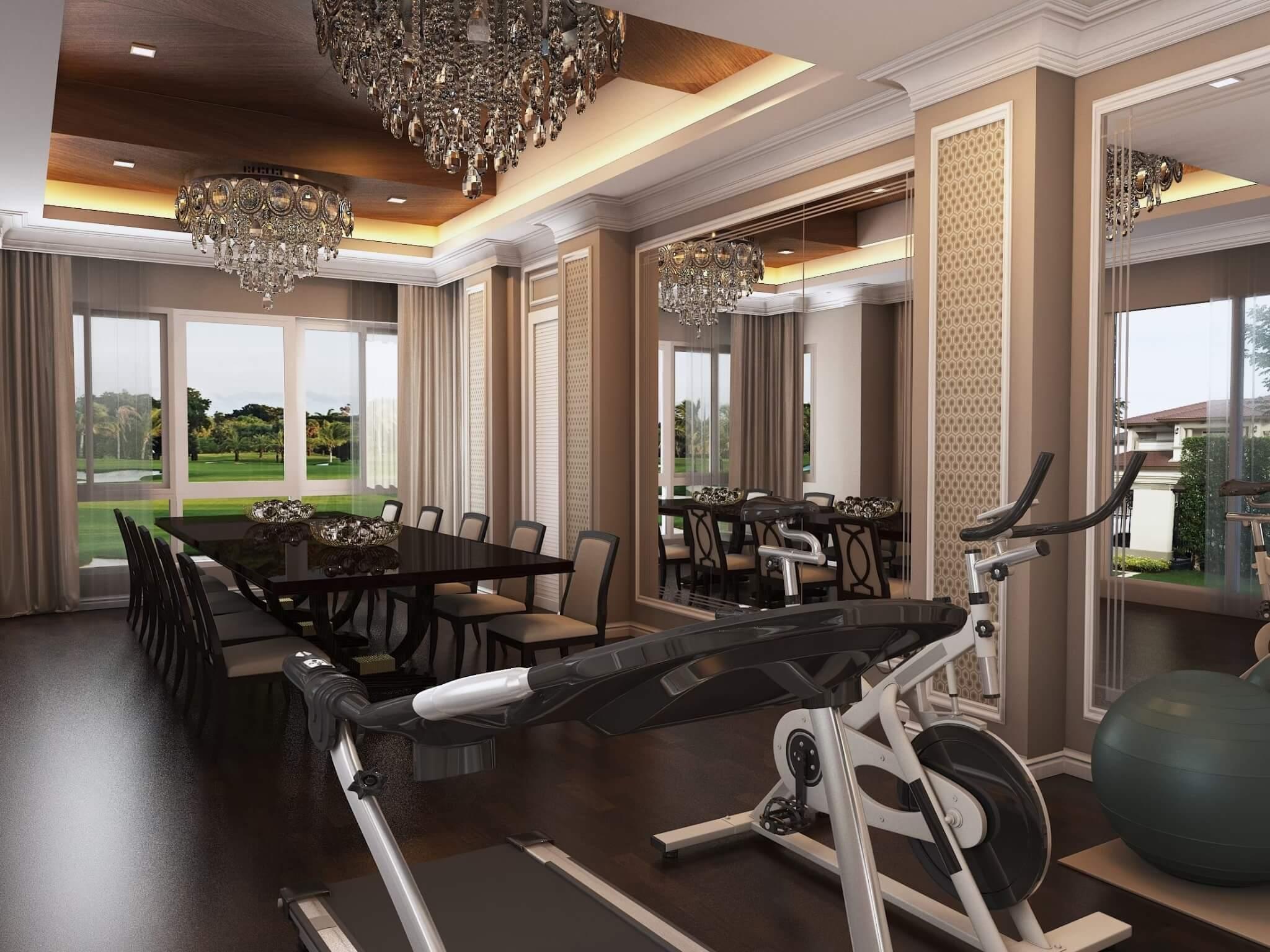 ออกแบบตกแต่งภายใน ตกแต่งภายใน ออกแบบภายใน บริษัทออกแบบภายใน interior Bareo รับออกแบบตกแต่งภายใน รับออกแบบตกแต่ง เฟอร์นิเจอร์ Build in ห้องออกกำลังกาย ห้องประชุม ห้องทางอาหาร
